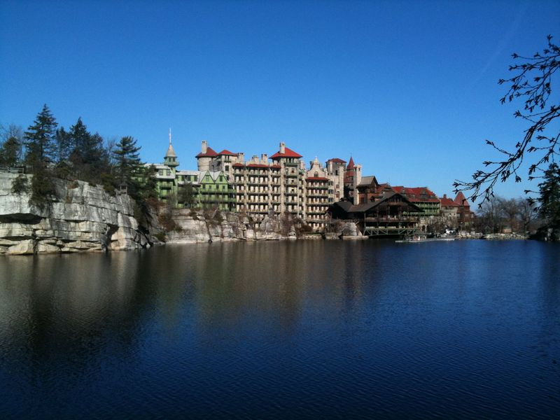View of Mohonk Mountain House